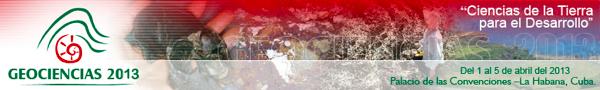 Geociencias 2013